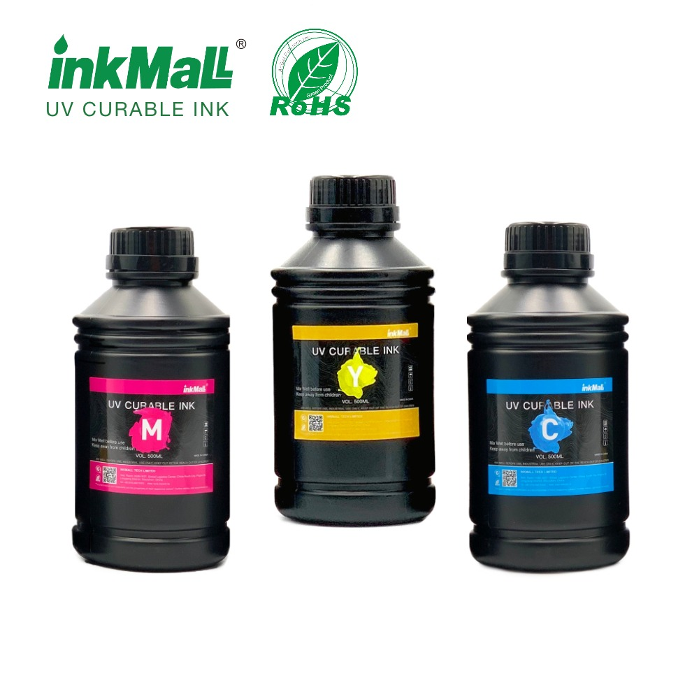 500ml Tinta UV LED de excelente fluência de
