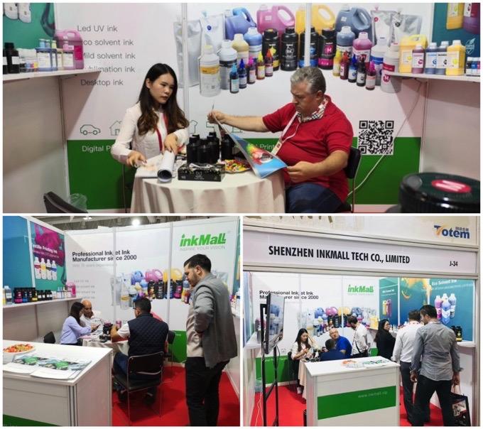 InkMall em Sign Istanbul Exhibition - Turquia 2019