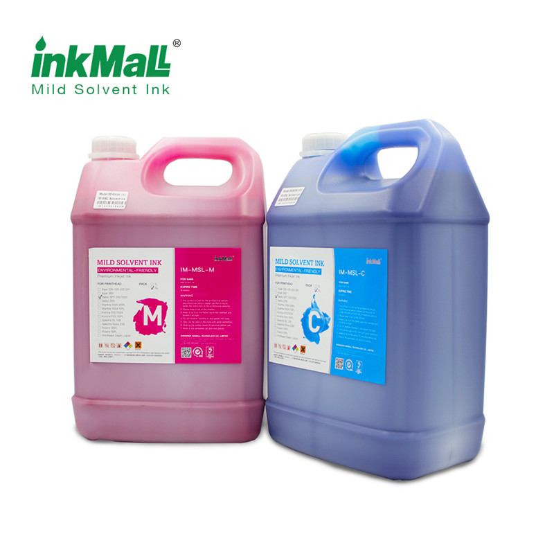 MSPL Mild solvent ink for Polaris