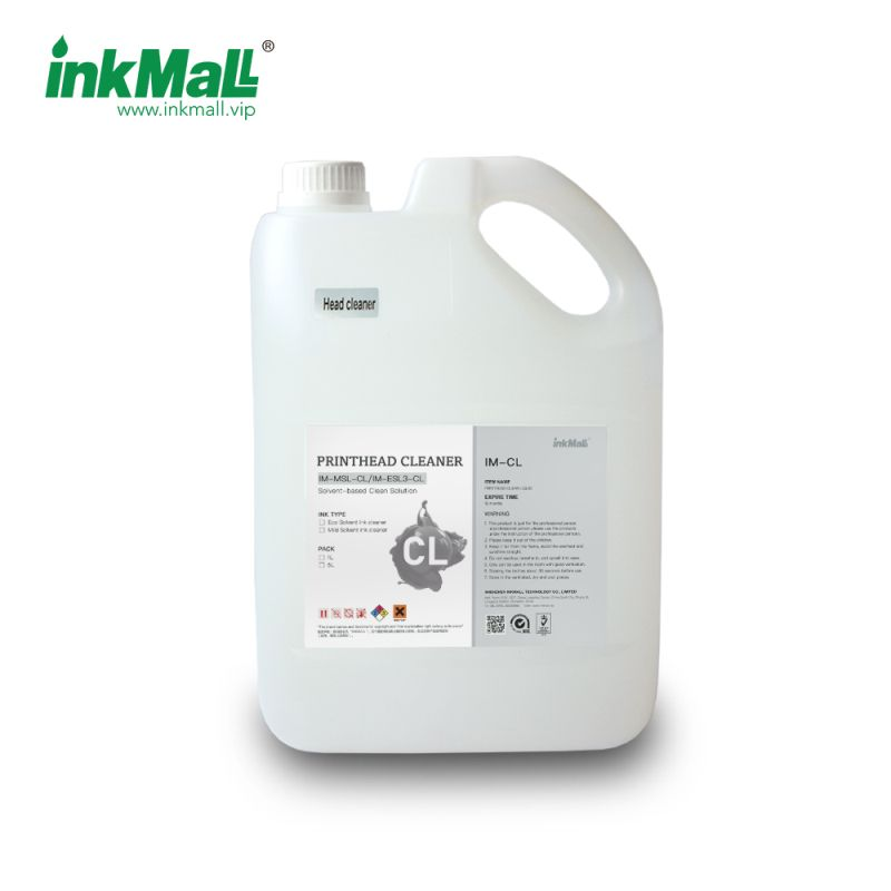 MSCL Cleaning solution Flush for solvent ink