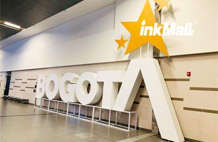 Colômbia Bogota-InkMall em Andigrafica 2019