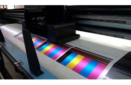 Materiais de impressão de iluminação UV mais usados